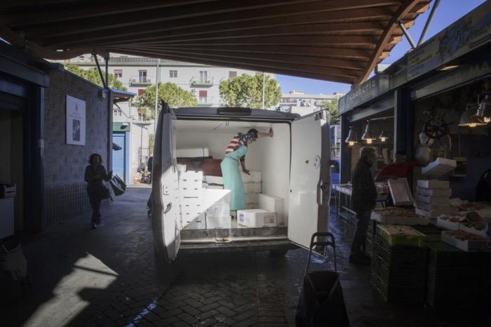Markt in Santa Scolastica